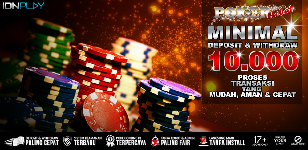 Cara Deposit Dan Withdraw Di Situs Pokerhebat